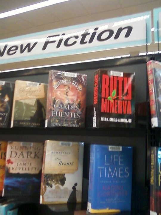 My book at Deltona, FL Library